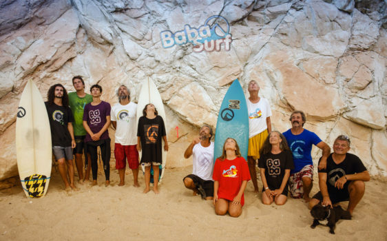 Life is better at the beach // Babasurf family